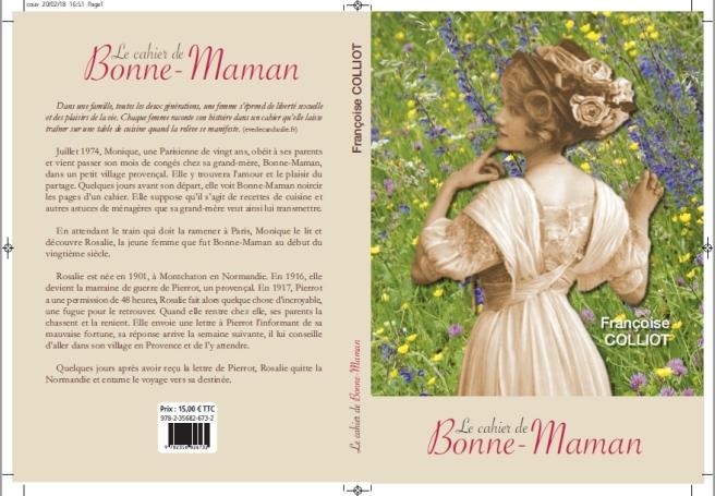 Couverture définitive du cahier de Bonne-Maman