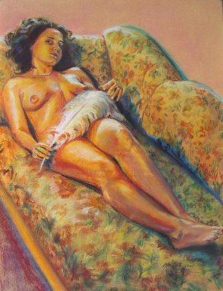 Tableau de Rita Matis