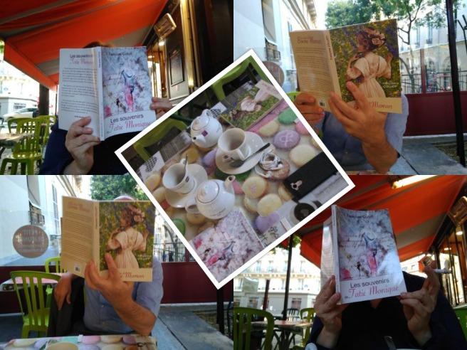 À la terrasse d'un café parisien...