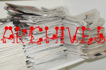 Archives (vieux journaux)